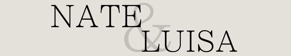 Nate & Luisa logo